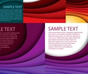 laminated gradient effect Background set vector