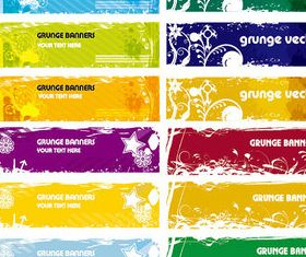 Garbage Banner background shiny vector