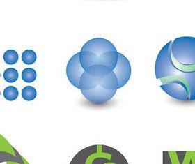 Shiny Logotypes 2 vector