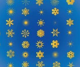 Free Snowflakes Vectors vector