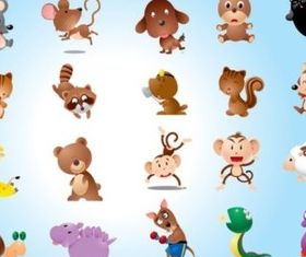 Animal Characters Vectors vector graphics