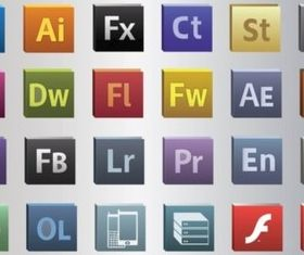 Free Adobe CS5 Vectors set vector