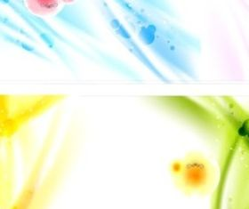 Colorful fantasy background vectors graphics
