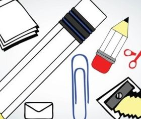 School Vector Icons vectors graphic