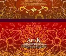 Fantasy design background Illustration vector