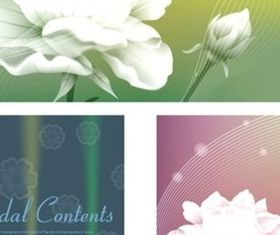 Personality rose white background creative vector