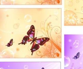 Fantasy design background vector