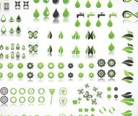 Green Planet Vectors vector material
