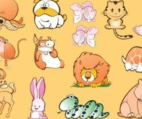 Animal Cartoons vector