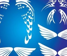 Wings Graphics vector
