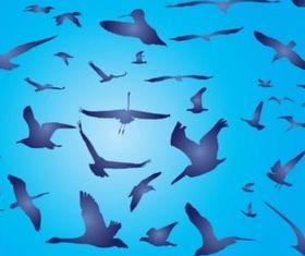 Free Birds Illustration vector