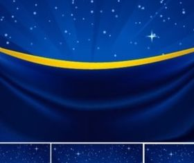 stars stage background vector