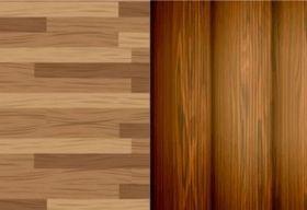 Exquisite wood background vector
