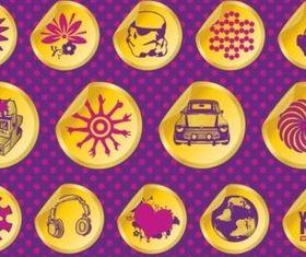 Vector Design Badges vector