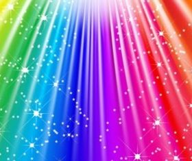 Colorful flash design background vector