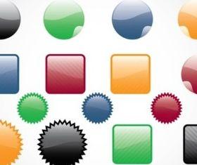 Web Buttons Vectors vector