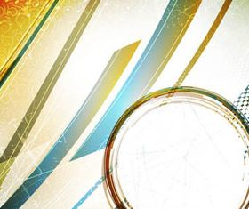 Abstract elements with Garbage background vector graphics