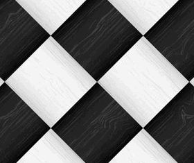 Black and white Square background creative vector