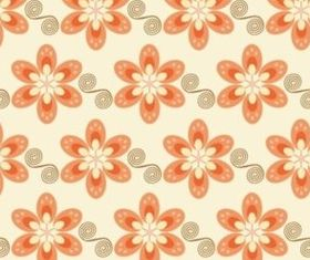 bright colors flower background vectors graphics