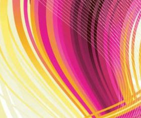 colorful dynamic lines background vector