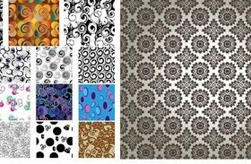 Different background classical pattern design vector