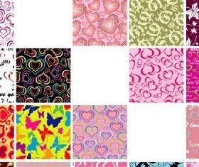 Common tiled background vector