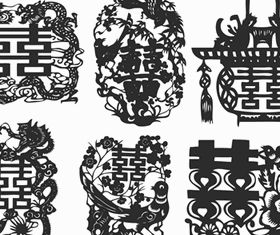 Chinese style design elements 1 Illustration vector