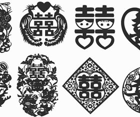 Chinese style design elements 2 Illustration vector design