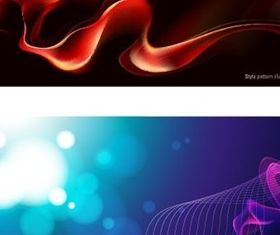 Different dream smoke background vector