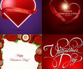 Valentine Backgrounds 2 vectors graphics