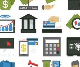Finance Icons Set 2 vectors