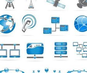 Shiny Network Icons shiny vector