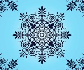 Victorian Pattern vector graphic