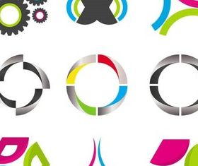 Abstract Design Logotypes vectors