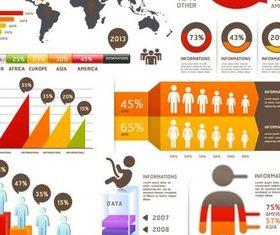 Human Infographics Elements art vector