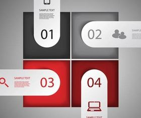 Infographic Backgrounds 23 vector design