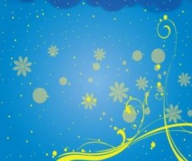 Free Swirly Background vectors