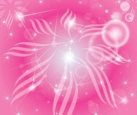Pink Universe background creative vector