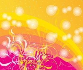 Free Swirls Design background vector design