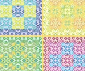 Ornamental Pattern vector material