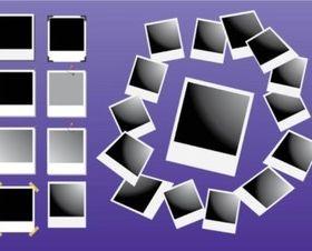 Polaroid Vectors background