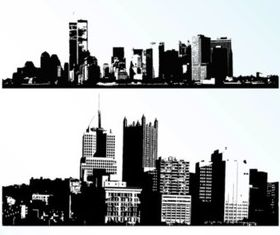 Cities vectors