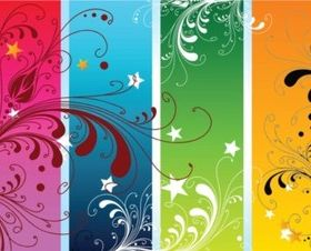 Colorful Nature Vectors design
