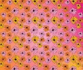 Flowers Pattern set vector