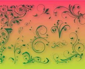Floral Decoration Graphics vector design