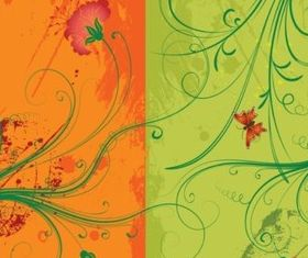 Floral vectors graphics