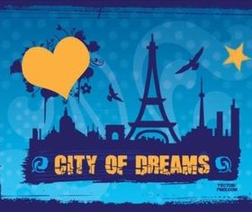 City Dreams vectors graphic