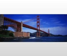 Golden Gate Bridge vector material