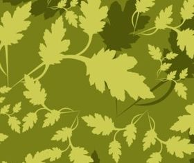 Leaves Camouflage Pattern vector