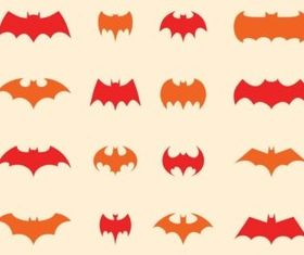 Batman Logo Set vectors